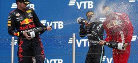 F1, GP Russia: Hamilton vince sotto il diluvio e fa 100 in carriera!