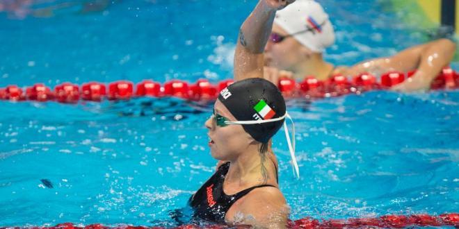 Nuoto,Pellegrini d'oro nei 200 sl,battuta la Hosszu