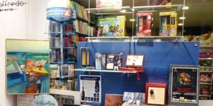 Quadri in Vetrina Libreria Loffredo