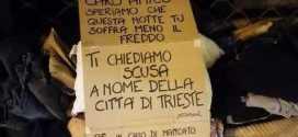 I cittadini di Trieste salvano un clochard