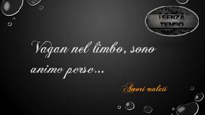 Senza Tempo - Frase 1