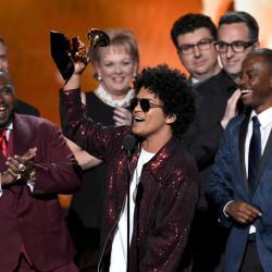 Bruno Mars Grammy 2018