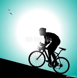 ciclista-in-salita