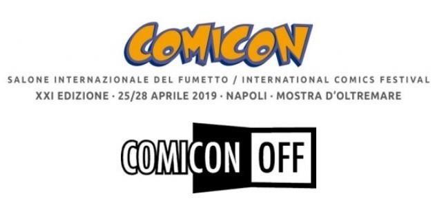COMIC(ON)OFF invade Napoli
