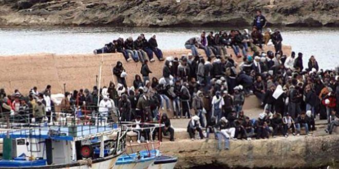 Mare Nostrum – liberaci dal male. Affonda una barca carica di profughi