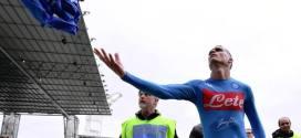 Frosinone-Napoli 0-2: azzurri contestati dai propri tifosi