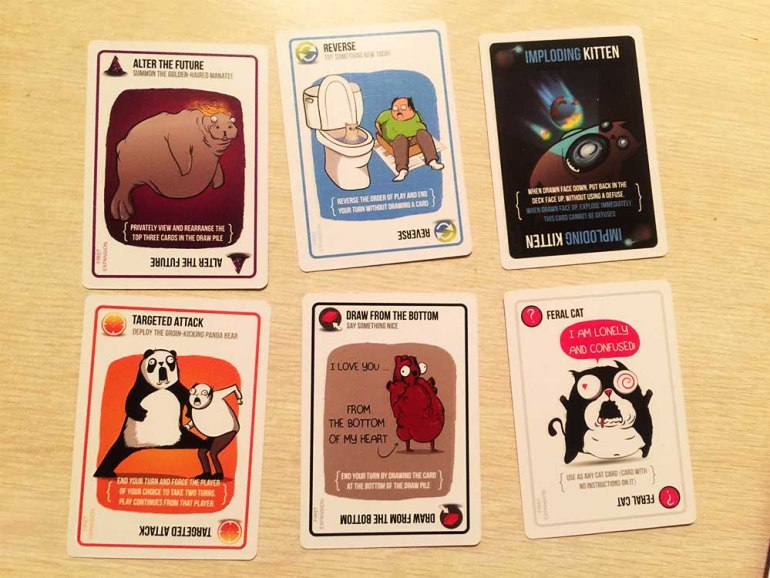 Exploding Kittens is overrated