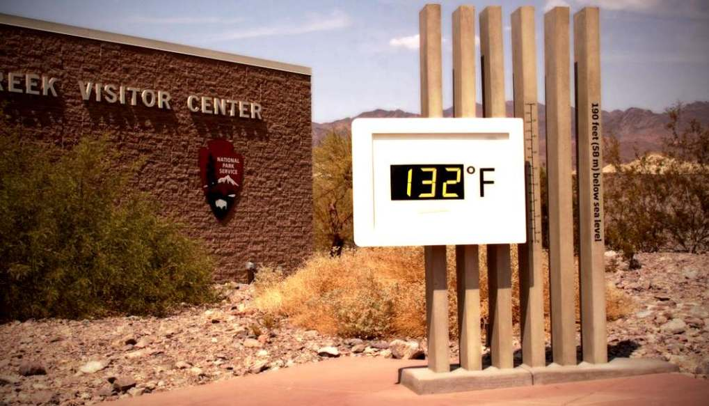 Furnace Creek: That's so hot!