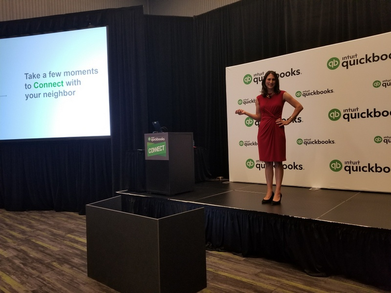 Donna Presenting at QuickBooks Connect