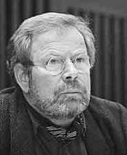 Franz Josef Degenhardt während eines Schriftstellertreffens am 5. Mai 1987 in Berlin, (c) Günter Prust