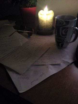 můj pracovní stůl
