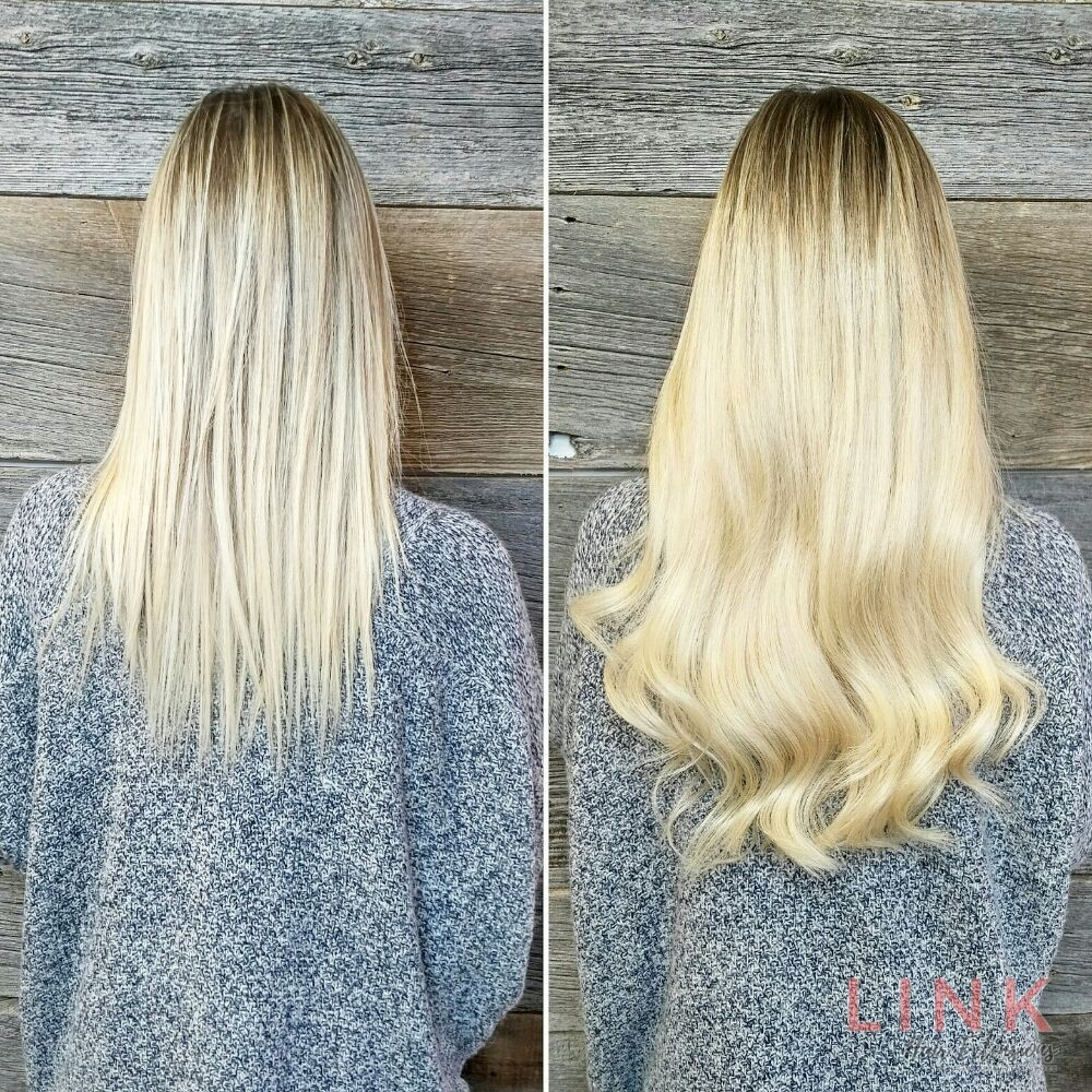 Nano Ring Hair Extensions by Link hair London Nano rings small reusable fittings in salon & mobile