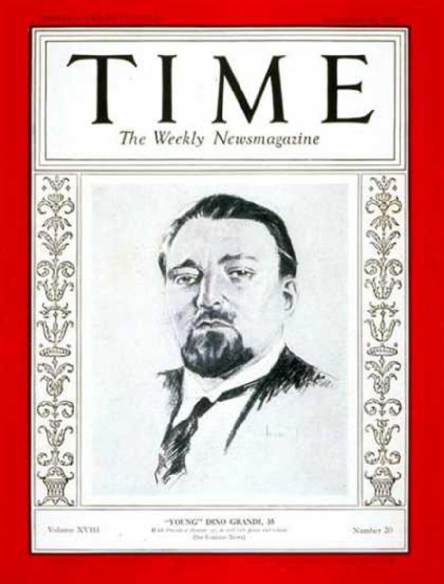 Dino Grandi, il fascista traditore che fece cadere il Duce ...