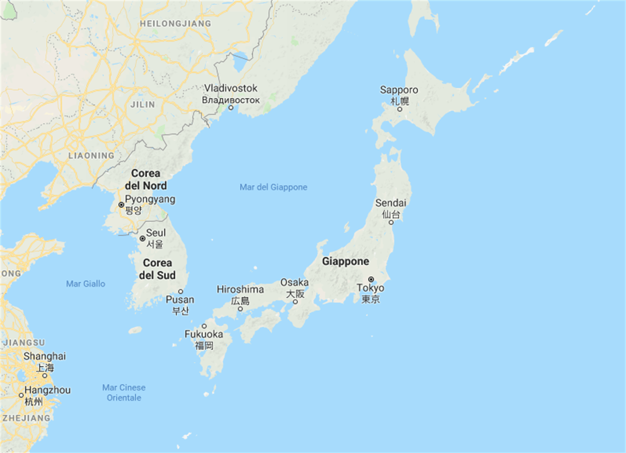 Cartina Italia Giappone.Il Giappone E Grande Quasi Quanto L Europa Linkiesta It