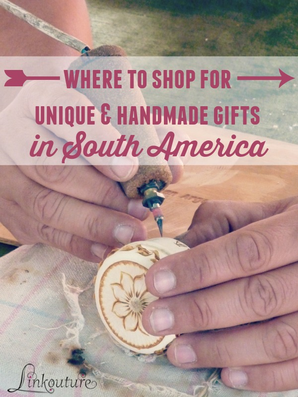 Looking for a truly unique and beautiful handmade gift idea or memento while traveling through South America? Check out these fantastic places in Bolivia, Argentina, Ecuador and Peru, and you will be sure to find some to dazzle!