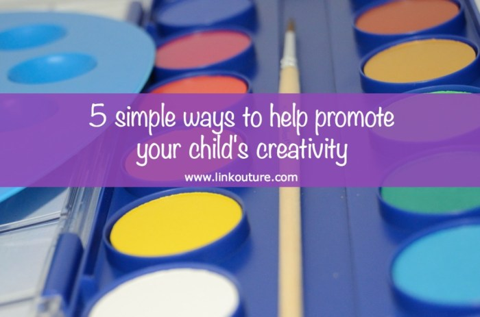 Regardless of how creative or artistic you consider yourself, there are many simple ways you can help nurture your child's creativity at home. The post also includes a free printable with simple questions to ask your child to get their creative gears spinning!