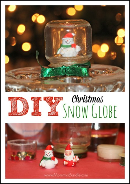 DIY Christmas Snow Globe by Mommy's Bundle