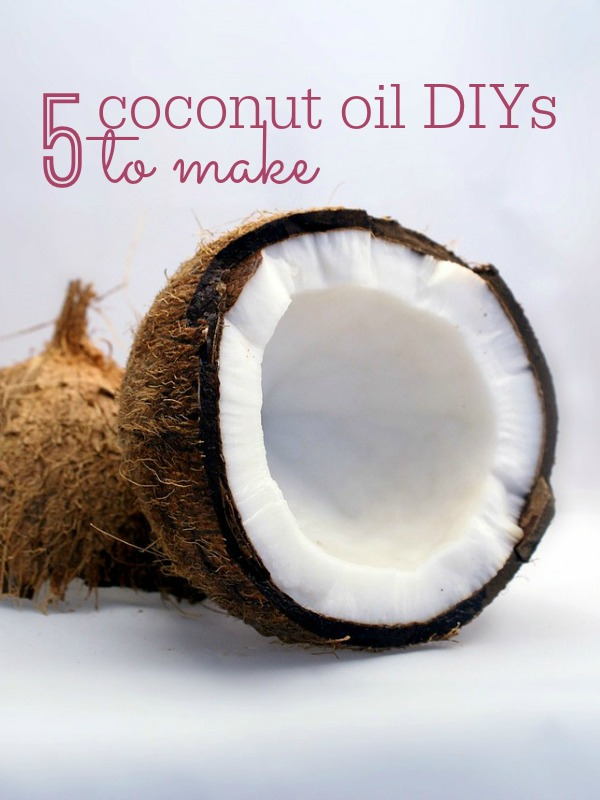 Coconut oil is not only great for recipes and cooking, but makes a great ingredient in beauty products. These 5 coconut oil DIYs not only are great for your skin, they are a fantastic way to save money!