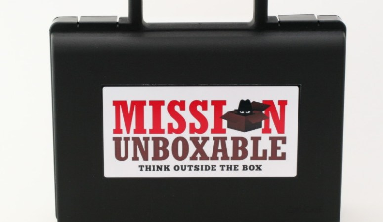 Mission Unboxble takes creativity, science and imagination to a whole new level!