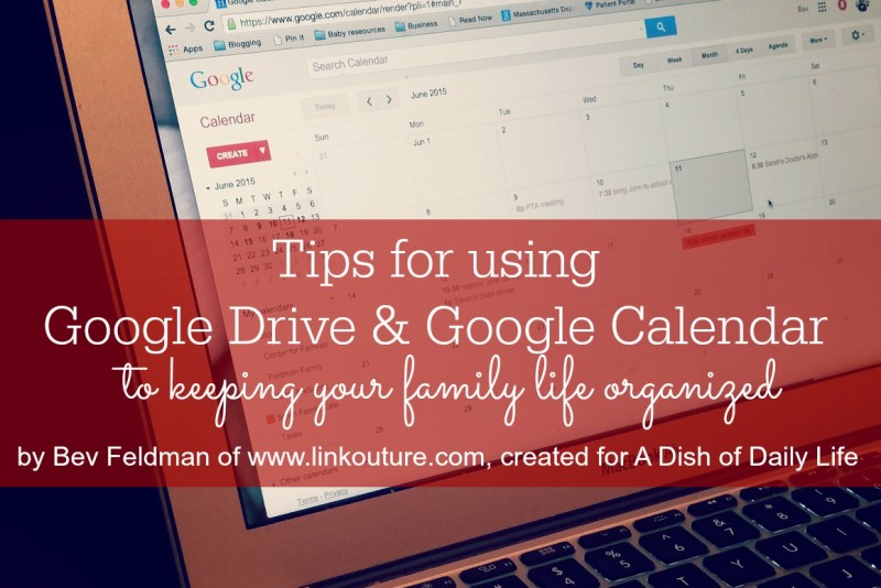 Use Google Calendar and Google Drive to Organize Your Life