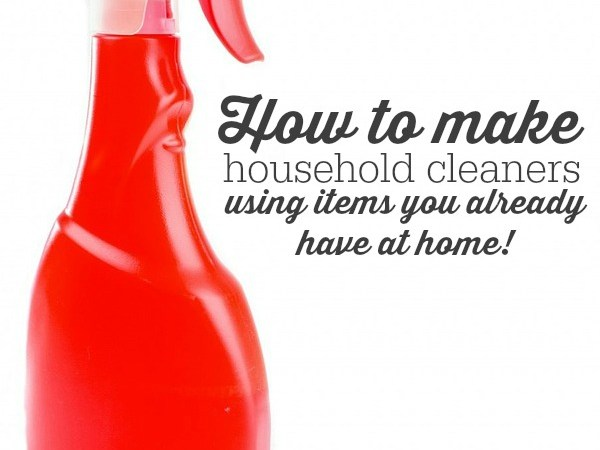 How to make natural cleaners from pantry items