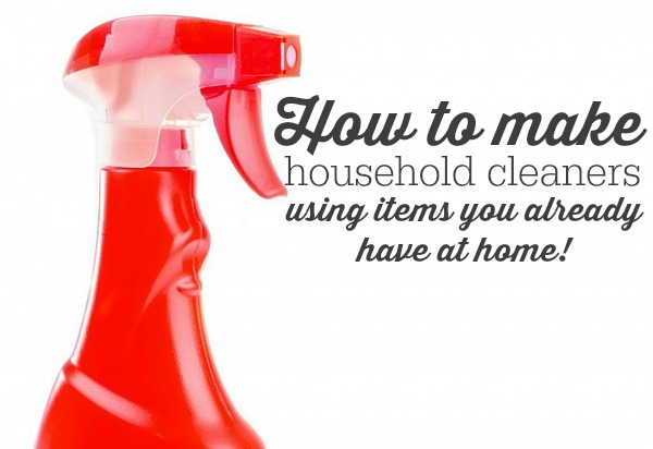 These DIY tutorials will show you how easy it is to keep your home sparkling clean using items you probably already have in your pantry. Not only will it save you money, these products are better for the environment and your health!
