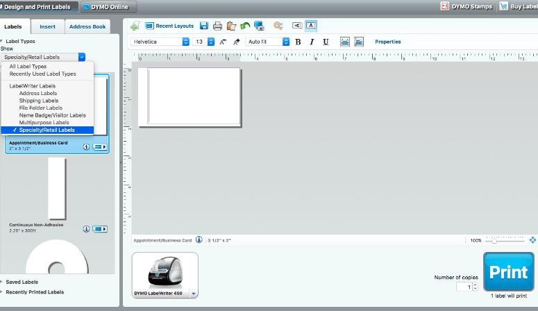 DYMO-LabelWriter®-tutorial-choose-label