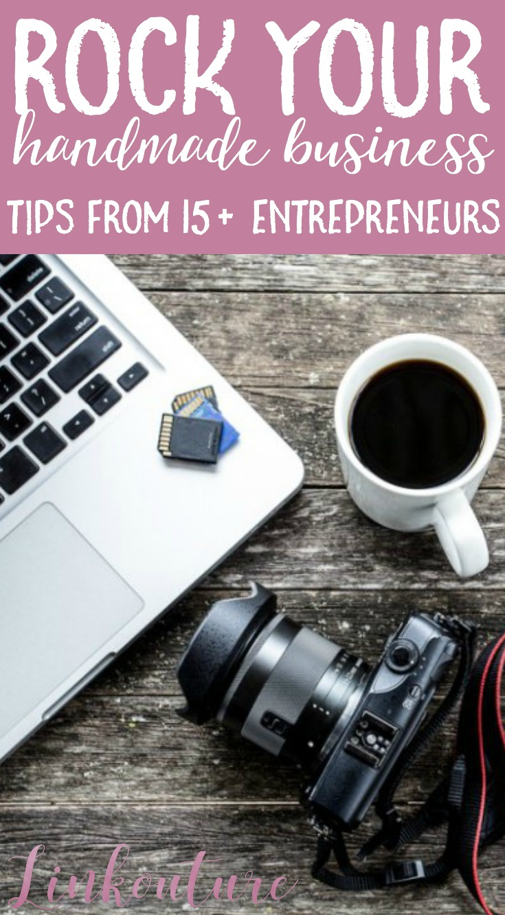 Whether you are a seasoned professional or just getting your feet wet, these 15 tips from creative entrepreneurs will inspire and motivate you and encourage you to push yourself forward with your handmade business.