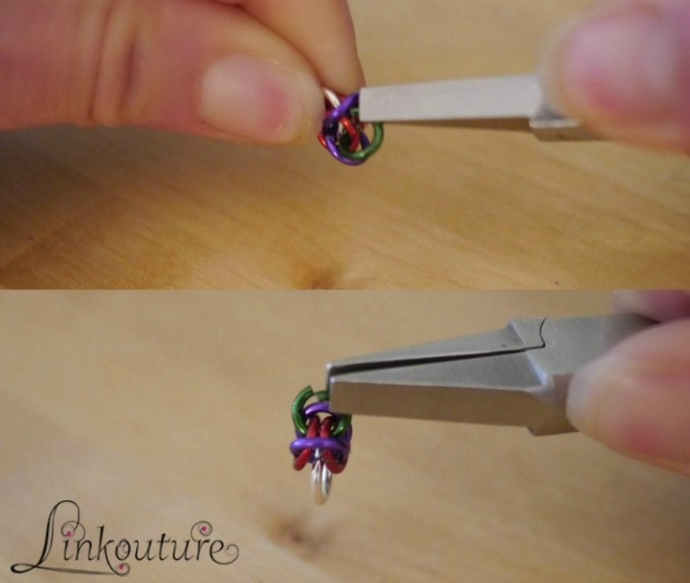 How to make a Byzantine chainmaille bracelet