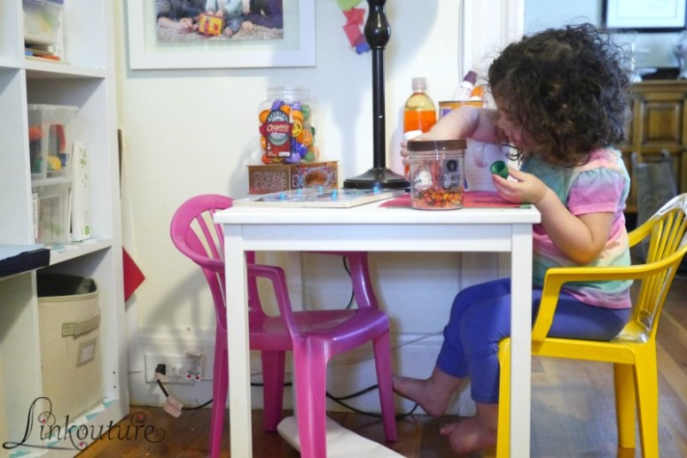 Create a beautiful and inviting toddler-friendly creativity corner in your home, even if you're short on funds and space. This is a perfect DIY project for any home organization junkie who also wants to inspire learning and creativity in their children!