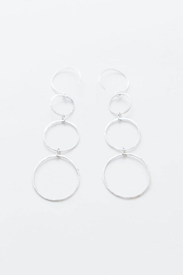 sterling silver hanging earrings