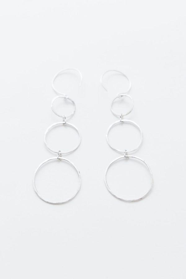 sterling silver hanging earrings