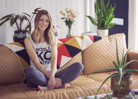 Sarah Hicks, founder and owner of Noble Native