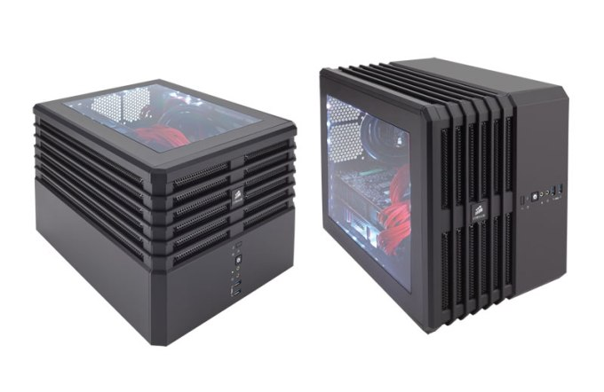 Corsair Carbite Air 240 パーツの組込例