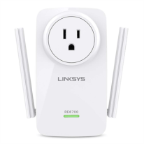 Linksys RE6700 AC1200 AMPLIFY Dual-Band Wi-Fi Range Extender - HeroImage