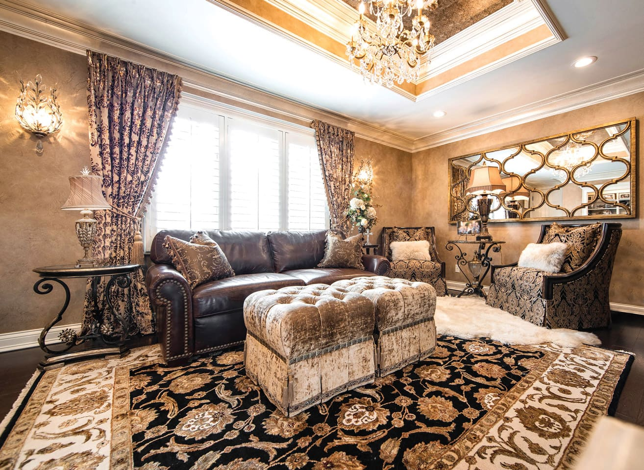 Living Room and Family Room Design - Linly Designs on Living Room Design Ideas  id=13089