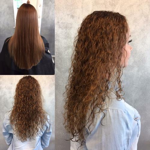 Pitkät hiukset