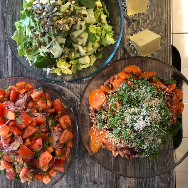 Lunch hos Linnérs mat på Trycket v 20