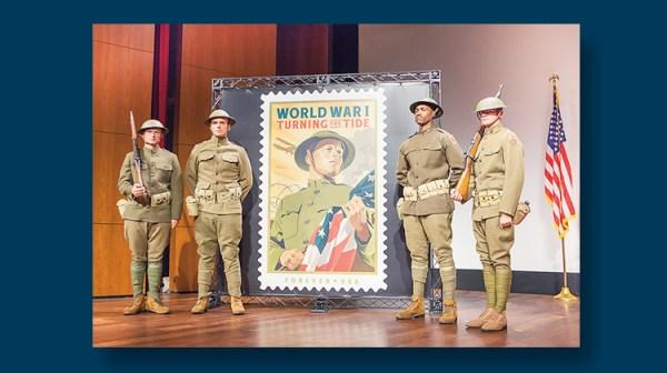 World War I stamp ceremony | Linns.com