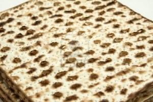 """Pan sin levadura llamado """"Matzah"""""""