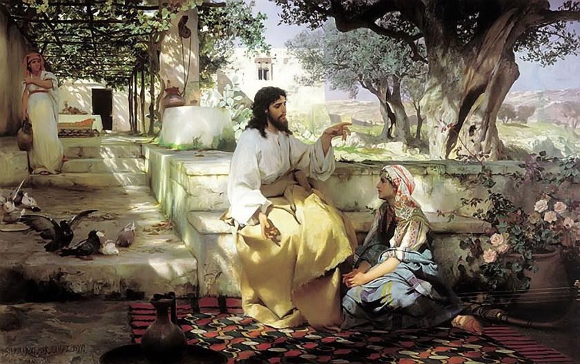 Christ-Martha-Maria-Henryk-Semiradsky