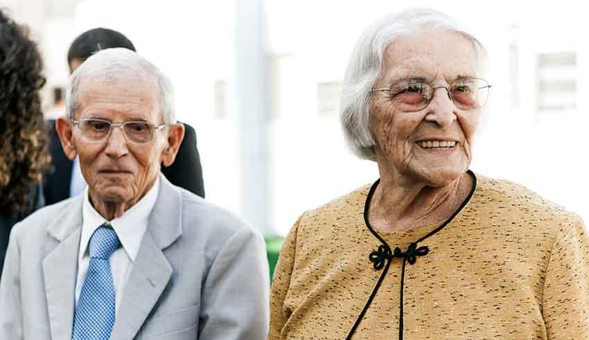 Geraldo e Noêmia, casal exemplar, que completa 66 anos de casamento
