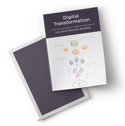 LINQs Digital Transformation Guide leaflet cover