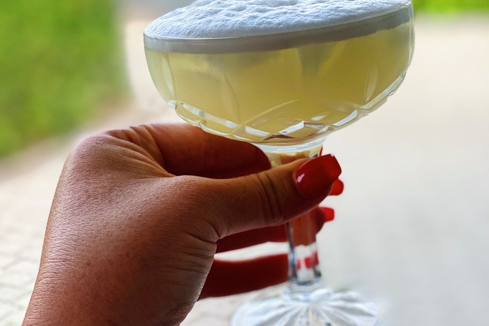 Fredagsdrinken – Elderflower Sour