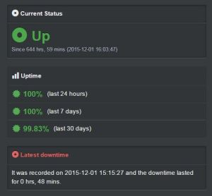 UpTime Robot Screenshot
