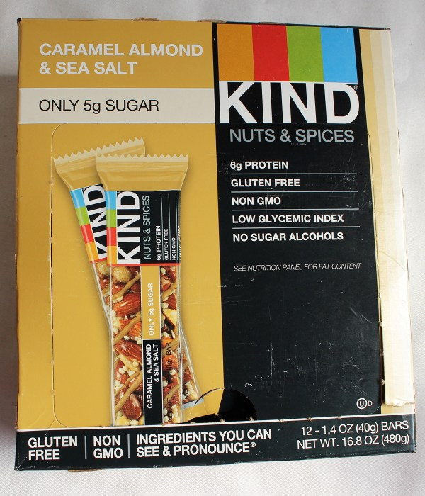 Caramel Almond & Sea Salt Kind Bar