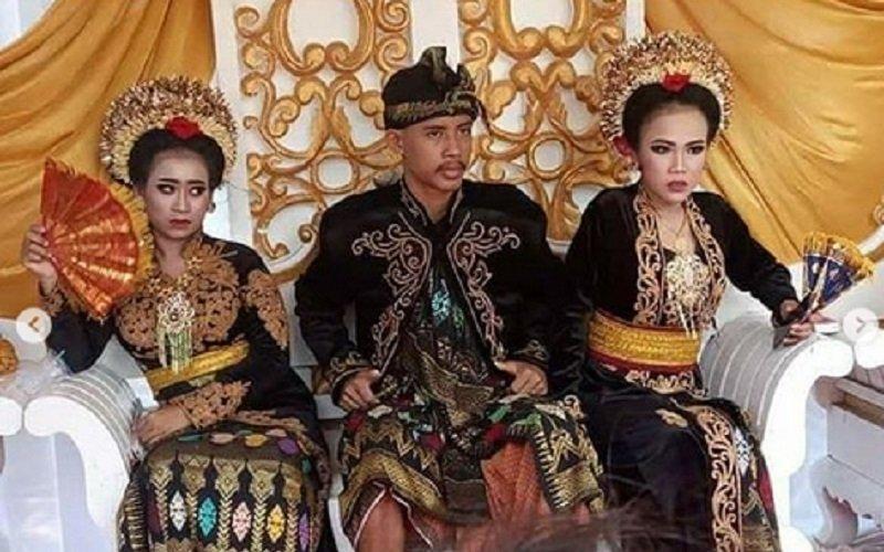 Dalam 1 Bulan Siswa SMK di Lombok Nikahi 2 Kekasihnya