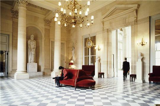 Visite De Lassemblee Nationale La Salle Des Quatre Colonnes