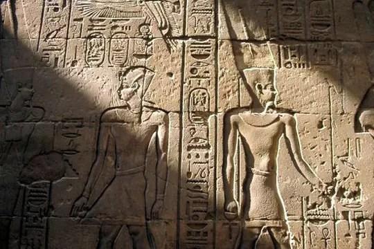 salle hypostyle du grand temple d'amon