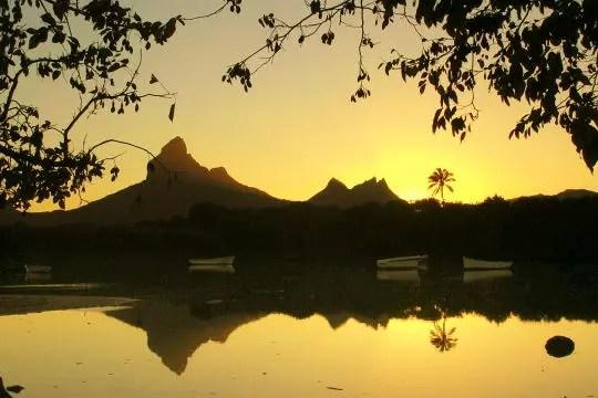 lever de soleil à tamarin